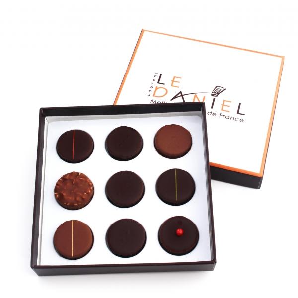 Chocolats Coffret Chocolate Praliné Laurent Le Daniel Rennes Bretagne MOF