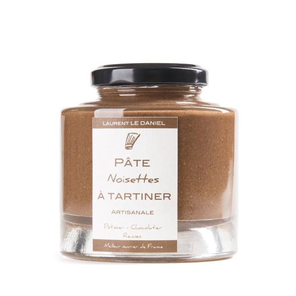 pate a tartiner nutella noisette chocolat noir lait rennes artisan maison recette bretagne ille et vilaine patisserie le daniel laurent meilleur ouvrier de france