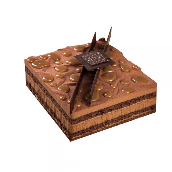 ebene gateau entremets dessert au chocolat croustillant au chocolat caramel a rennes dessert pour enfant pâtisserie le daniel maison le daniel meilleur ouvrier de france patisserie à rennes ille et vilaine bretagne