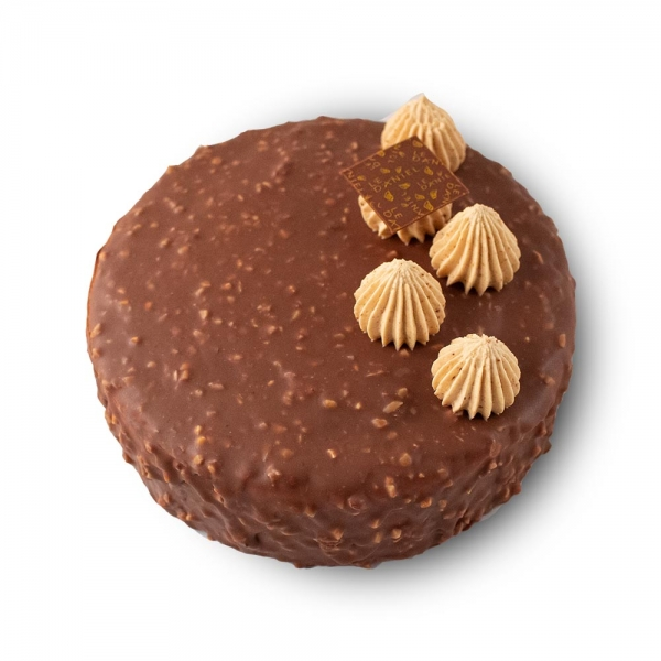 longchamp dessert chocolat praliné entremets dessert gâteau au chocolat laurent le daniel mof meilleur ouvrier de france patisserie à rennes patisserie le daniel maison le daniel à rennes ille et vilaine bretagne