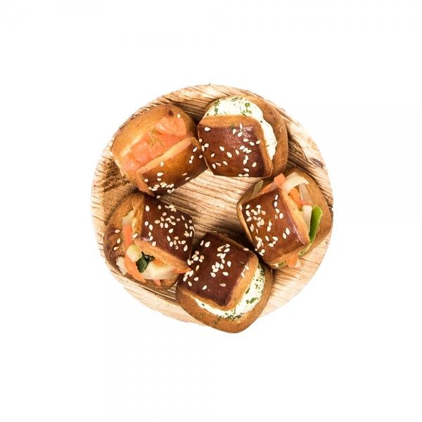 produit navette mini sandwichs création 2020 artisans traiteur laurent le daniel mof meilleur ouvrier de france à rennes ille et vilaine bretagne relais desserts