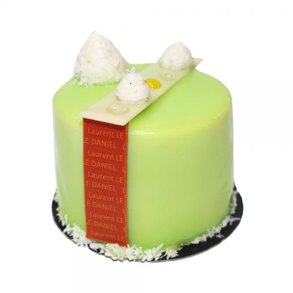 mioga petit gâteau originale création citron vert gingembre idées dessert originale laurent le daniel maison le daniel mof rennes bretagne