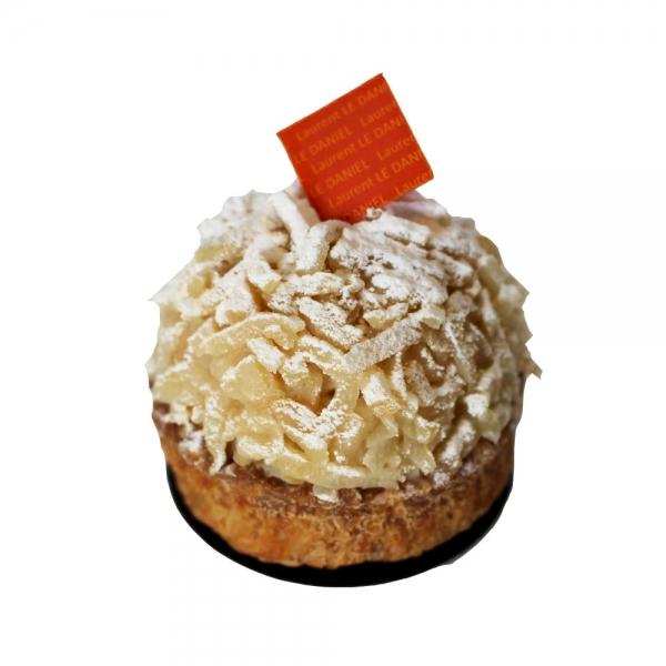 tartelette pomme caramel tartelette traditionnelle saveurs spécialité bretonnes bretagne rennes mof laurent le daniel patisserie le daniel maison le daniel pomme caramel