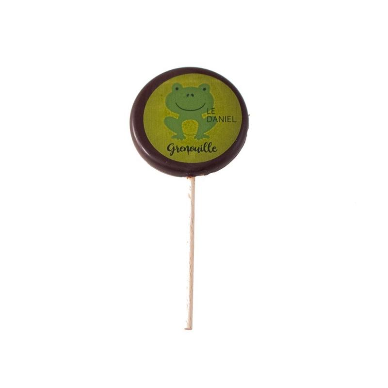 sucette chocolat noir création artisans chocolatiers rennes ille et vilaine bretagne mof meilleur ouvrier de france patisserie à rennes ille et vilaine bretagne laurent le daniel