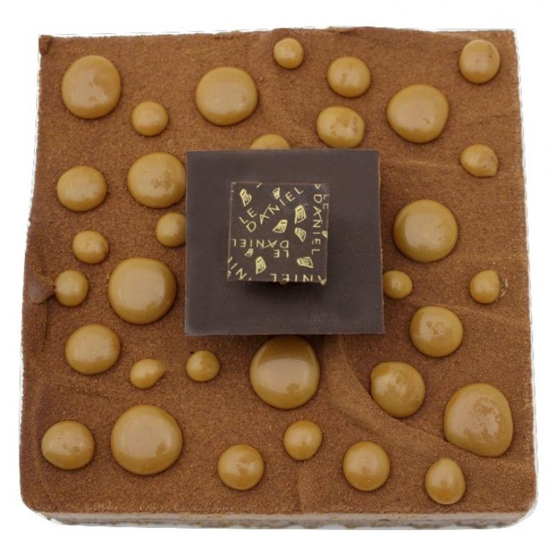 ebene gateau chocolat caramel par laurent le daniel