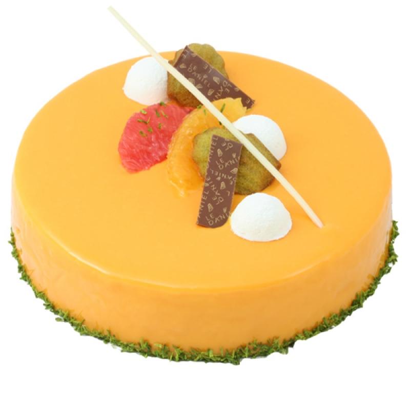 Crème légère framboise Gelée de framboise Biscuit aux amandes