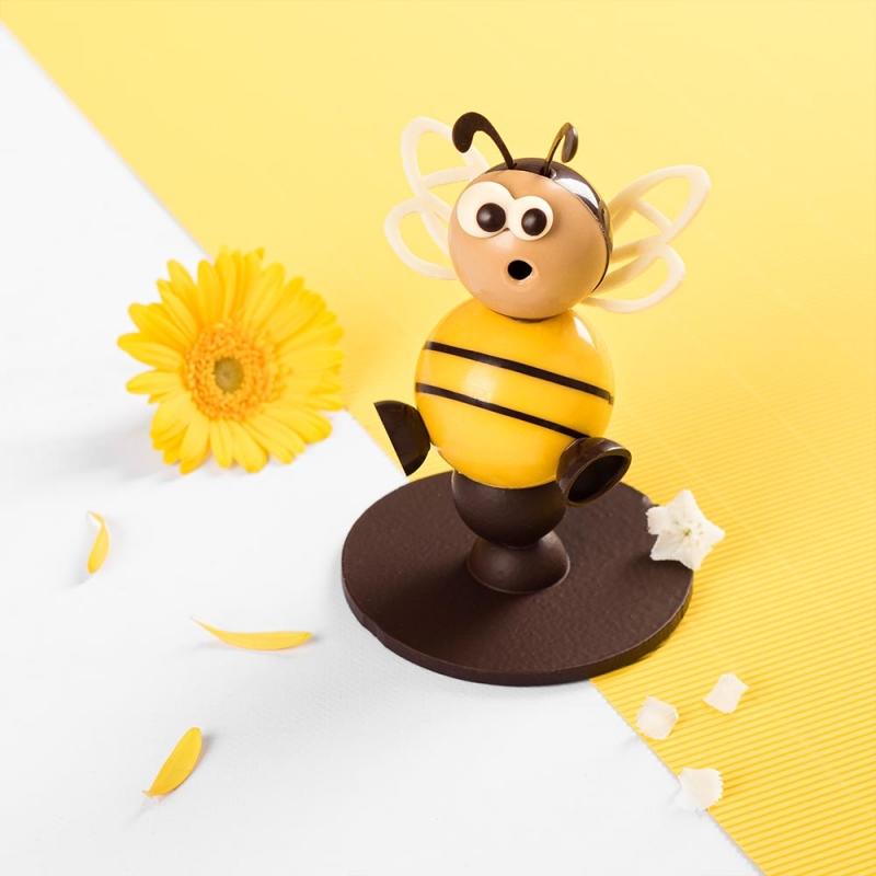 abeille sujet chocolat été artisans chocolatiers rennais laurent le daniel maison le daniel patisserie le daniel mof meilleur ouvrier de france patisserie à rennes ille et vilaine bretagne