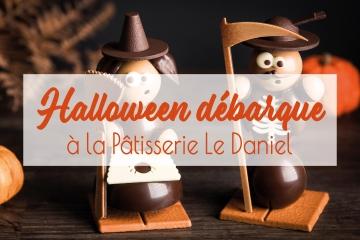 halloween chocolat gourmandises sucreries sujets en chocolat enfant adulte créations originales artisans chocolatiers rennais laurent le daniel maison le daniel patisserie le daniel mof meilleur ouvrier de france  patisserie à rennes ille et vilaine bretagne